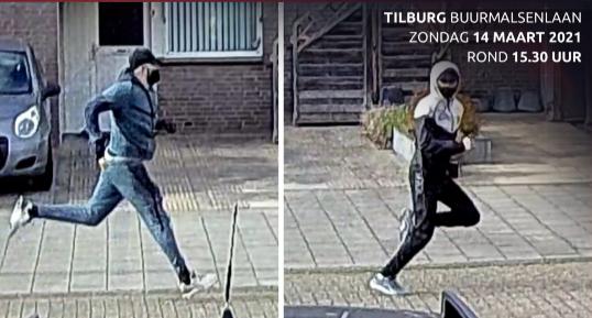 Tilburg Vrouw komt thuis terwijl inbrekers huis overhoop halen