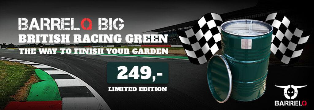 barrelq big britisch racing green